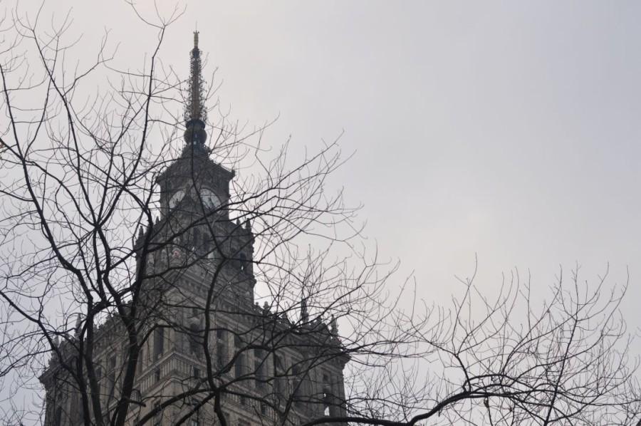 Jesienna Warszawa. Pałac Kultury i Nauki. bebuszka.pl