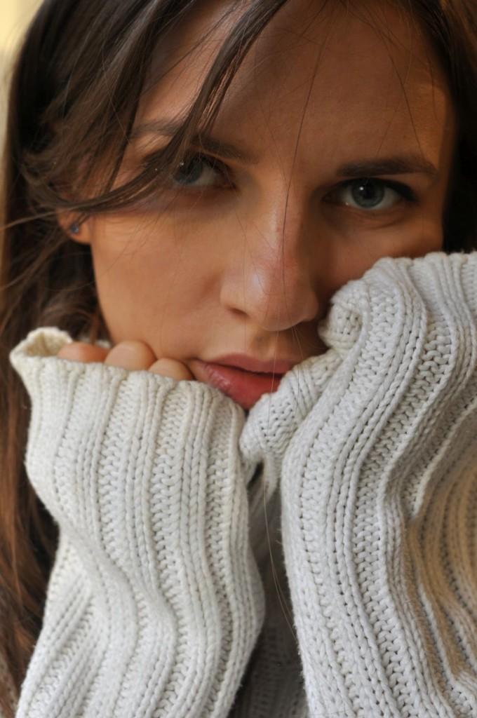 Monika Widocka Gotowa na zimę. Zimowy sweter. bebuszka