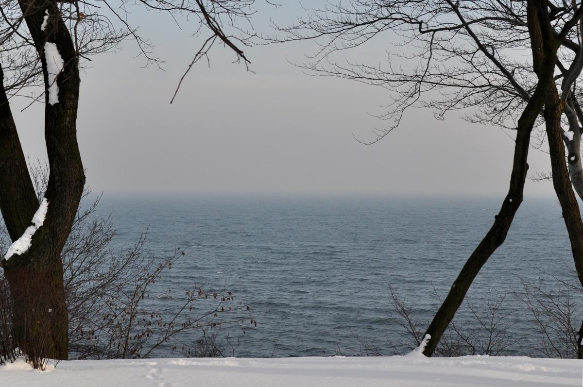 Gdynia Orłowo morze bebuszka