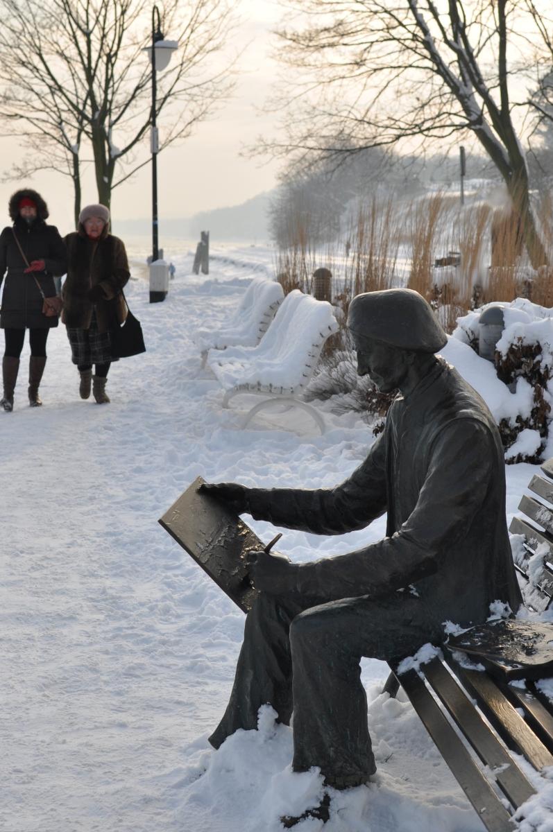Gdynia Orłowo zimą