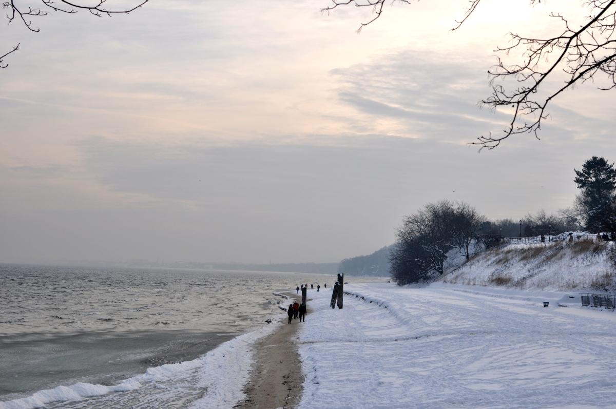 Gdynia Orłowo - widoki, plaża