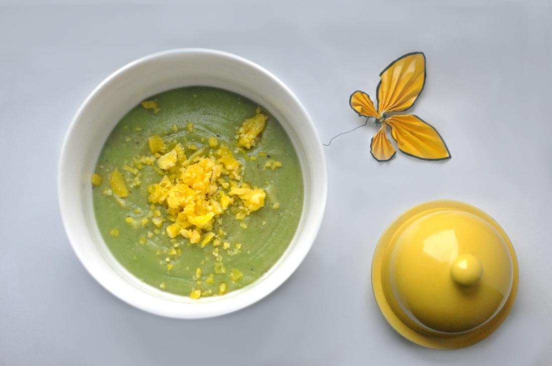 Przepis na zupę krem brokułowy. Krem z brokułów.