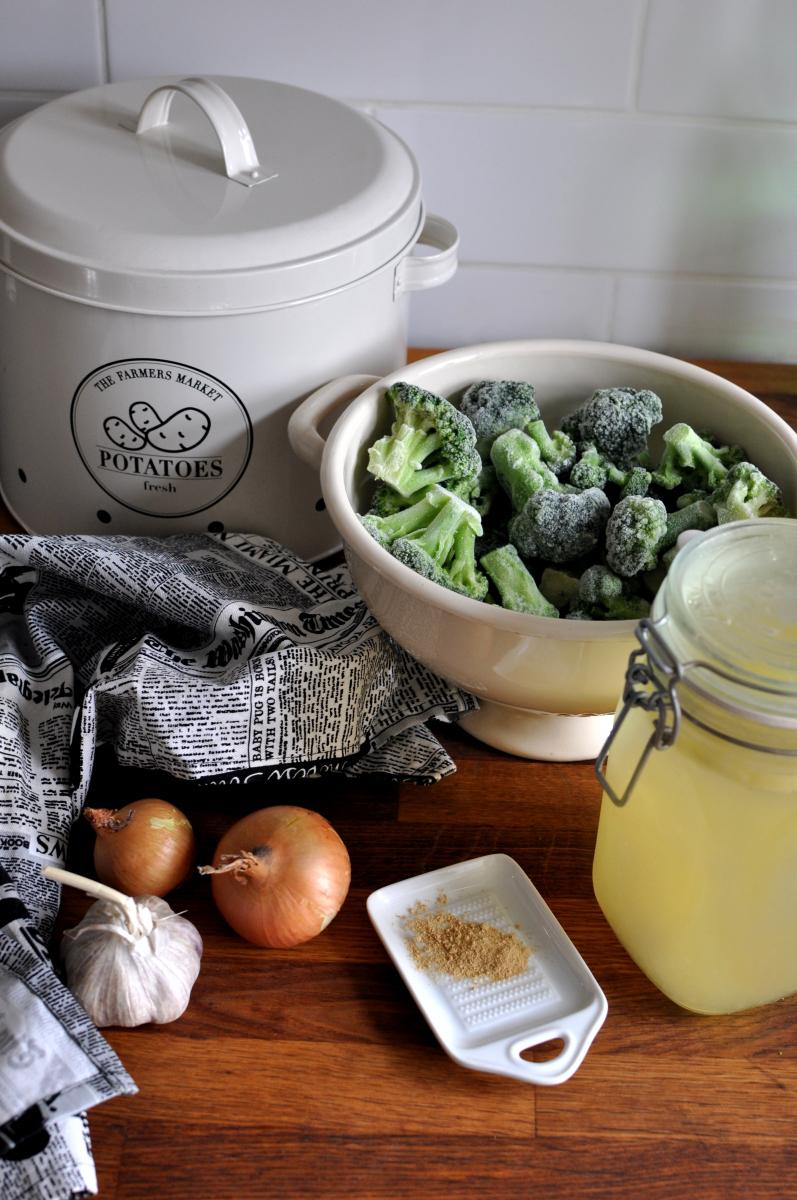 Zup krem z brokułów. Składniki. Zdrowe przepisy.