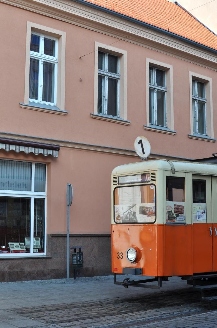 Bydgoszcz - zabytkowy tramwaj.