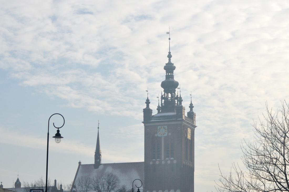 Gdańsk zimą. bebuszka