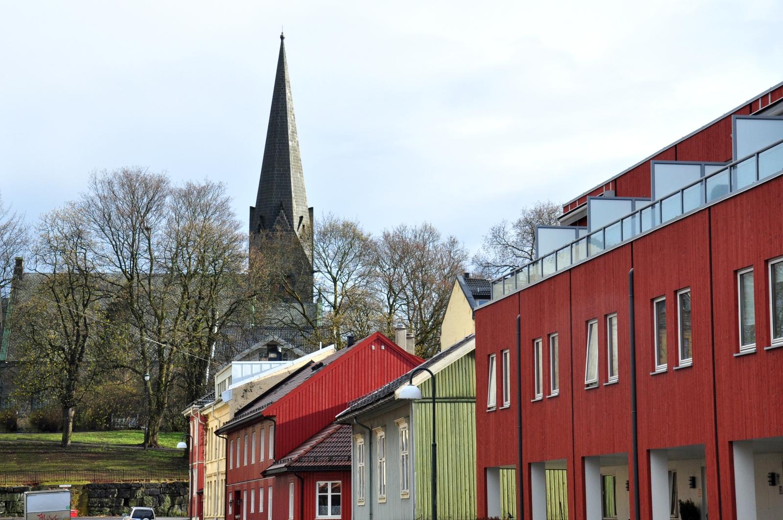 Oslo zabudowa