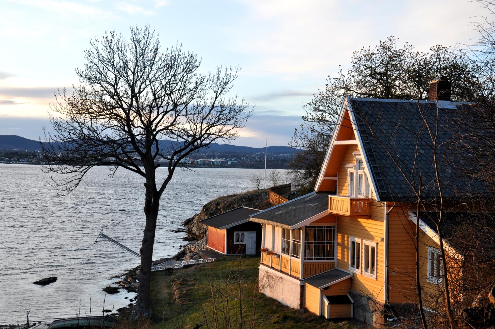 Oslo wyspa widoki