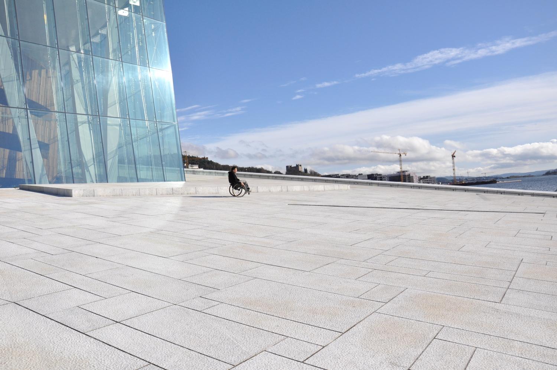 Opera Oslo niepełnosprawny