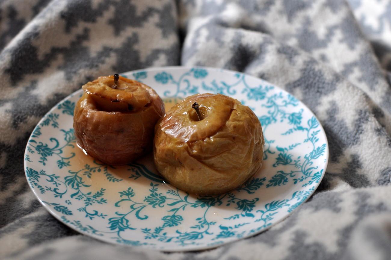 slowfood, pieczone jabłka, zdrowe odżywianie