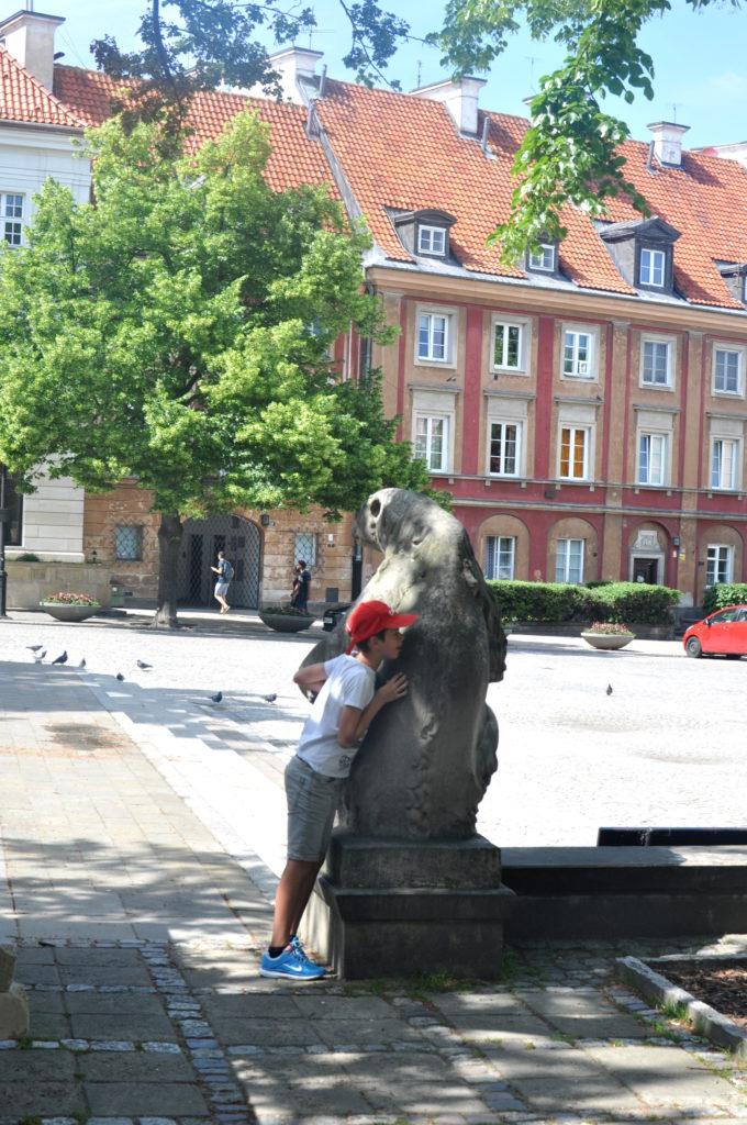Warszawa, bebuszka